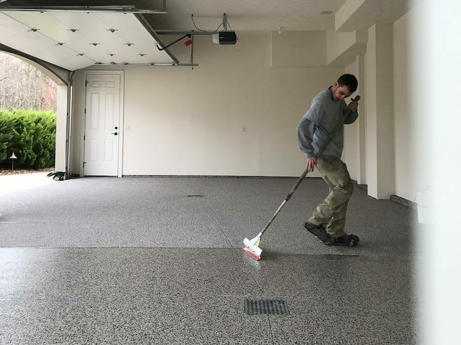 Concrete Flooring Restoration Process