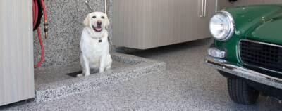 dog epoxy flooring