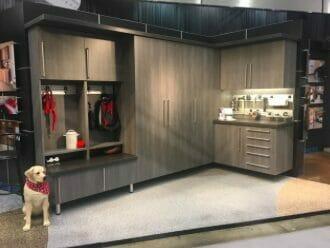 garage cabniet showroom