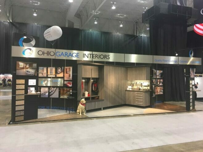 Ohio Garage Interiors Booth