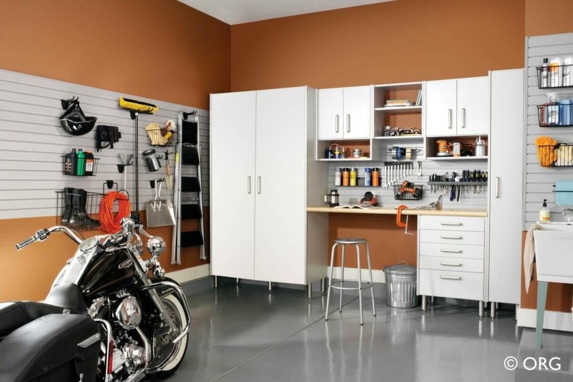 Improve garage safety with organization