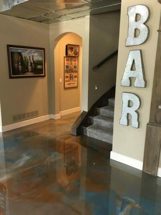 basement flooring lasting beautiful solution Ohio Garage Interiors