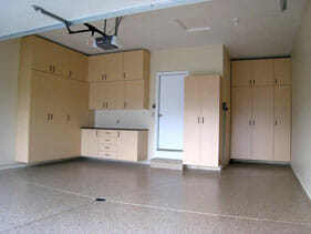 Garage Floor Installation | Garage Cabinet