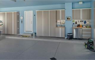 garage wall mounted shelving systems | garage designs