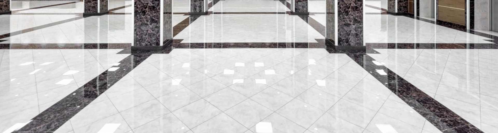 A shiny polyaspartic floor installed by OGI   Polyaspartic vs. epoxy coatings