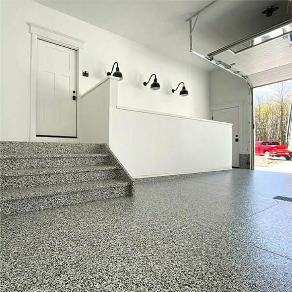 An epoxy garage floor | Westlake flooring services